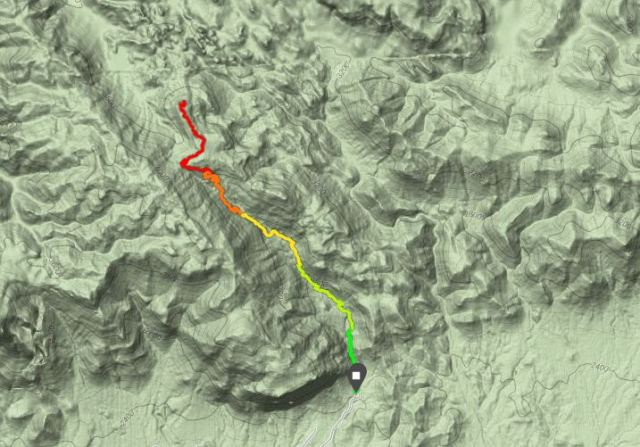 Peralta hike map