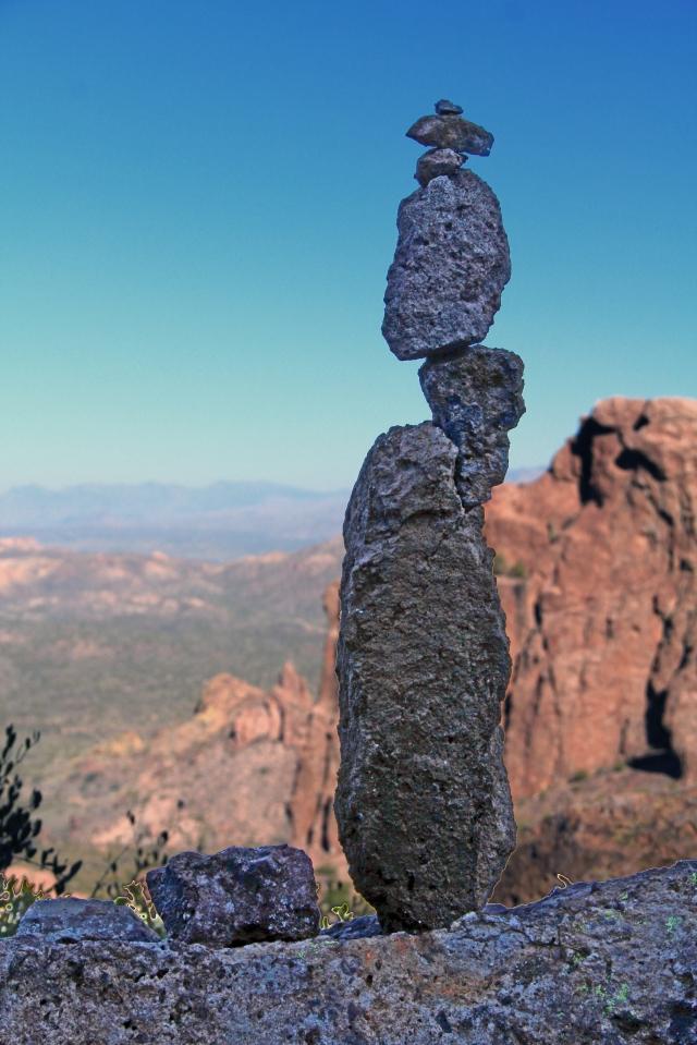 Balanced Cairn